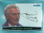 Doctor Who Big Screen -  A0 Peter Cushing as Doctor Who (Facsimile Autograph)  Trading Card -  10664